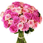 Bouquet of 30 Pink Roses