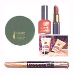 Send Compact, Nail Polish, Lipstick, Foundation and Kajal From Lakme